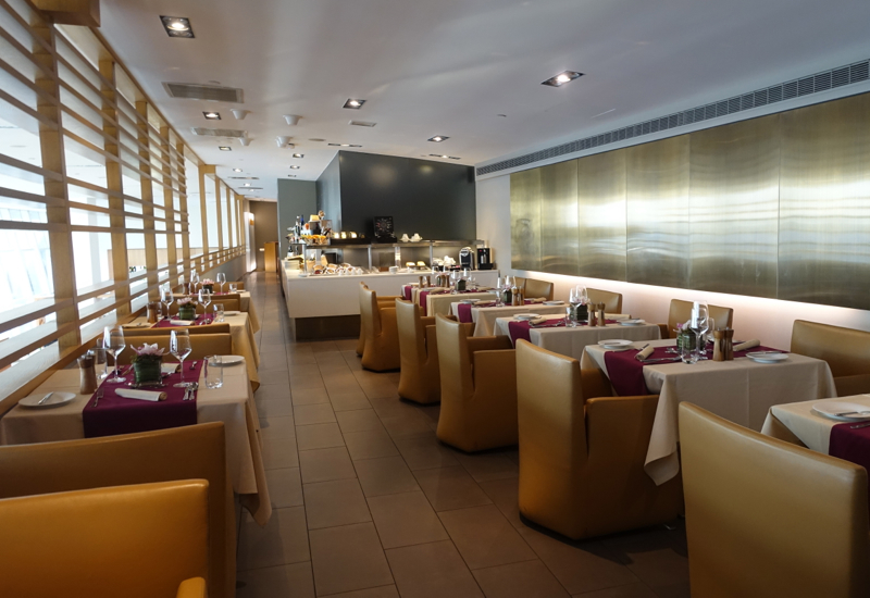 Review lufthansa first class lounge jfk airport terminal for Hotel at jfk airport terminal