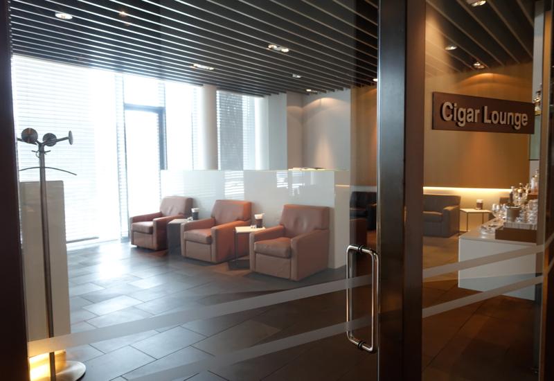 Cigar Lounge, Lufthansa First Class Terminal Review