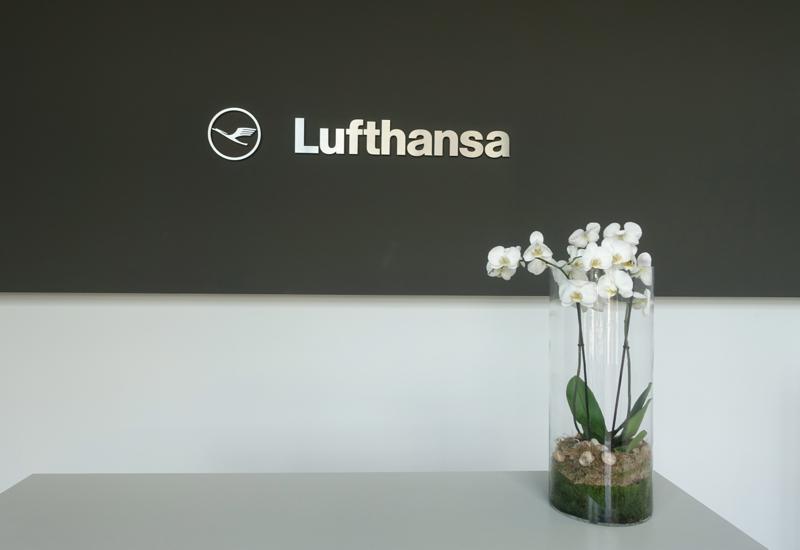 Entrance to Lufthansa First Class Terminal, Frankfurt