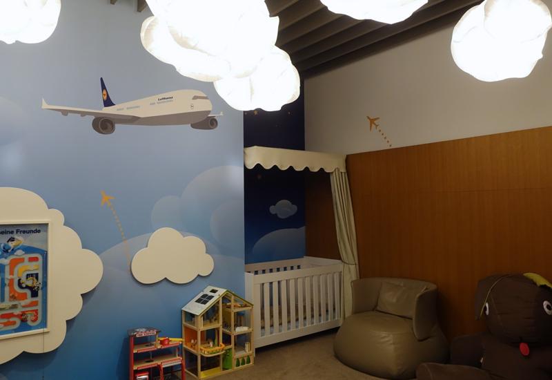 Kids' Play Space, Lufthansa First Class Terminal Review
