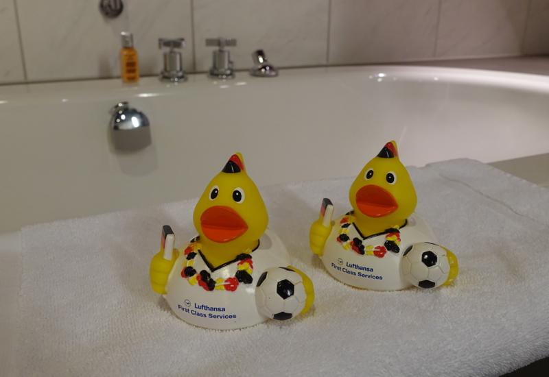 Lufthansa First Class Terminal Rubber Duckies