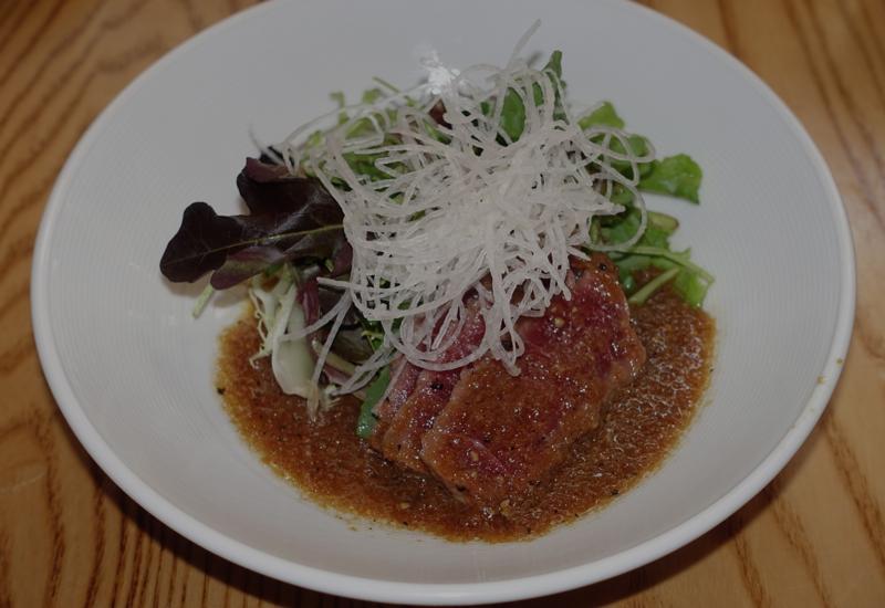 Review nobu new york restaurant week menu travelsort for Sashimi dressing