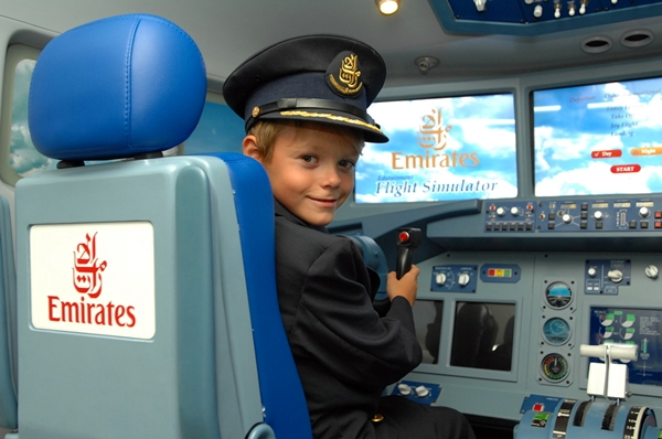 Flight Simulator, Children's City, Dubai