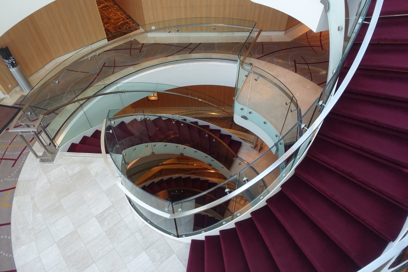 Seabourn Quest Main Staircase