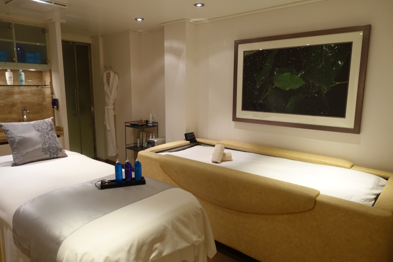 Seabourn Quest Spa Treatment Room