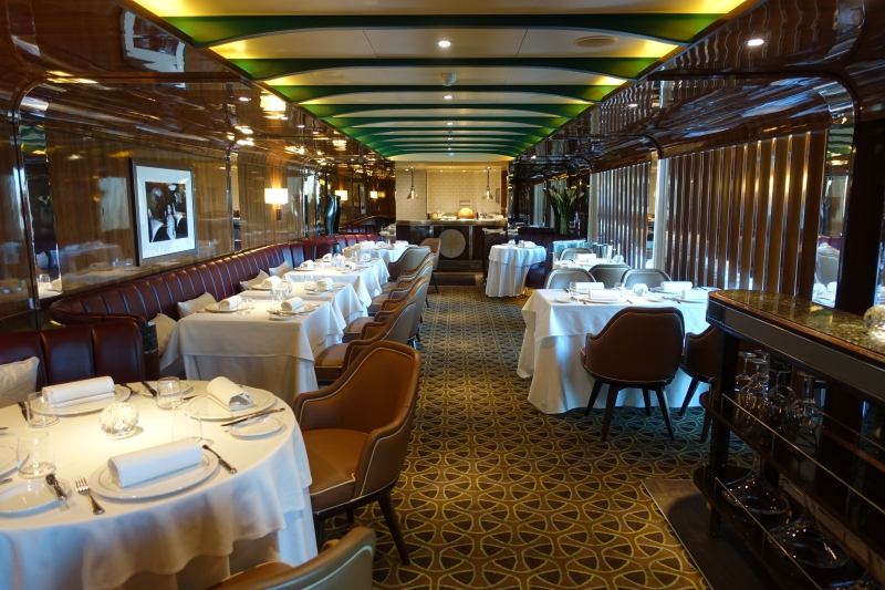 The Grill by Thomas Keller, Seabourn Quest