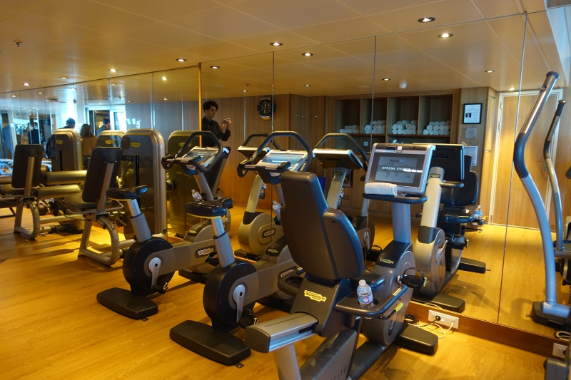 Seabourn Quest Fitness Center