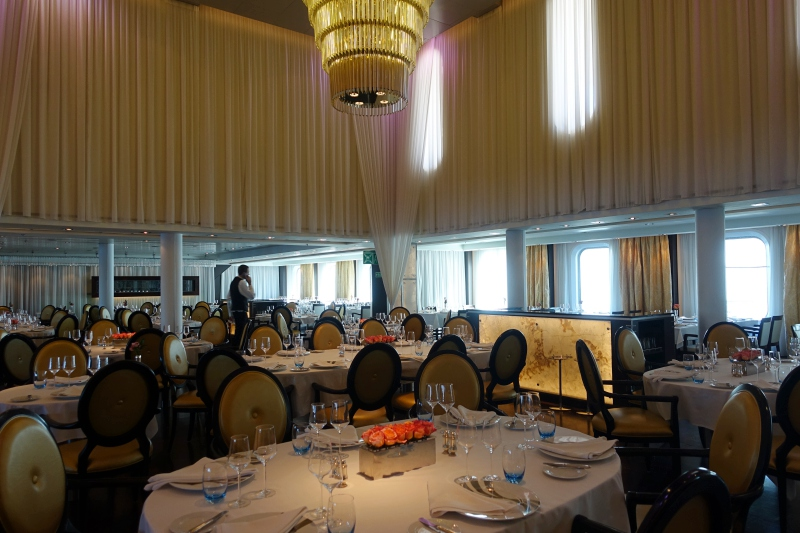 Seabourn Quest Main Dining Room