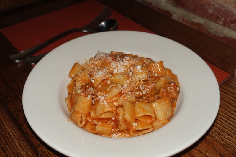 Rigatoni With Sausage Ragu Recipe — Dishmaps