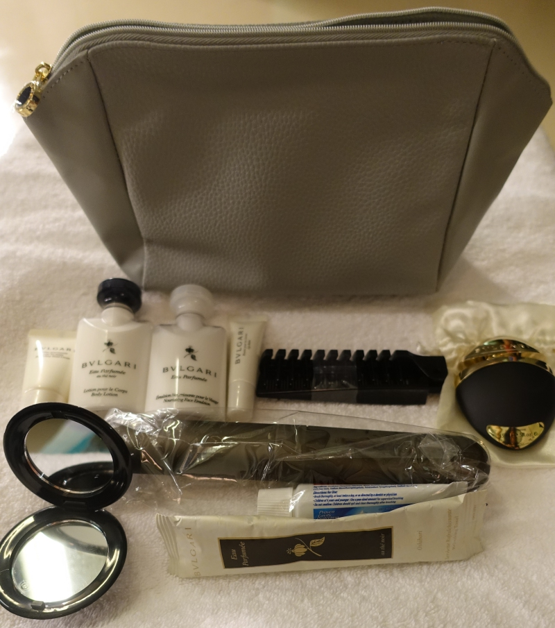 Emirates First Class Amenity Kit