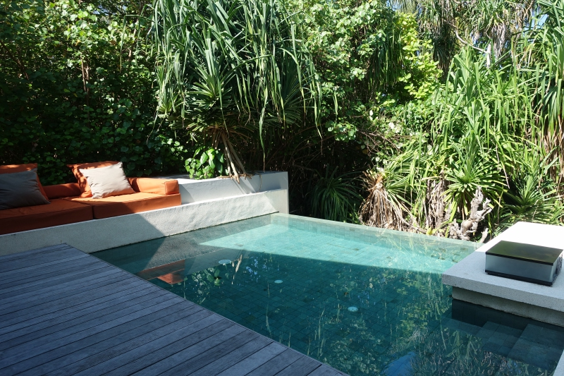 Park Pool Villa Pool, Park Hyatt Maldives Review
