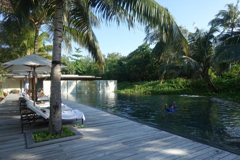 Spa Pool, Park Hyatt Maldives Review 2016