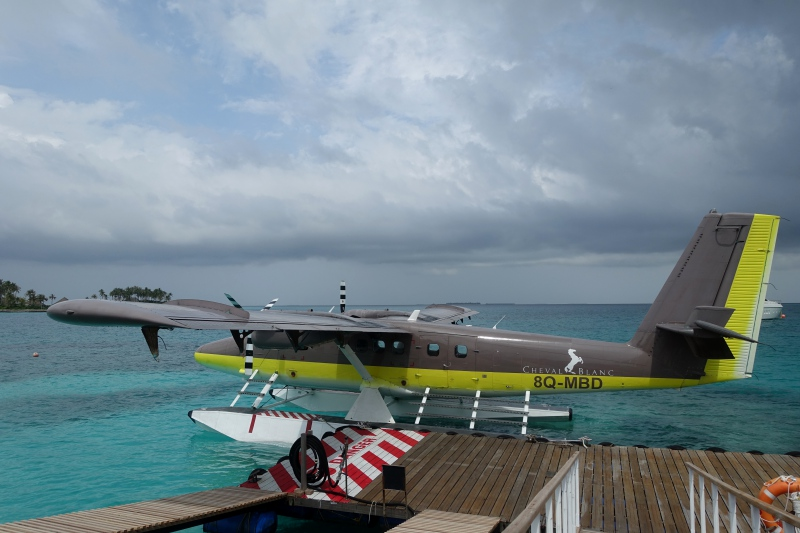 Cheval Blanc Randheli Seaplane