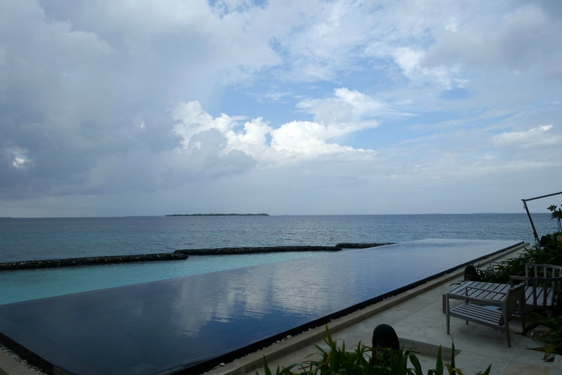 Spa Island Pool by Relaxation Area, Cheval Blanc Randheli Review