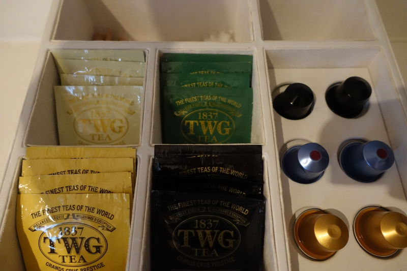 Nespresso Capsules and TWG Tea, Cheval Blanc Randheli Review