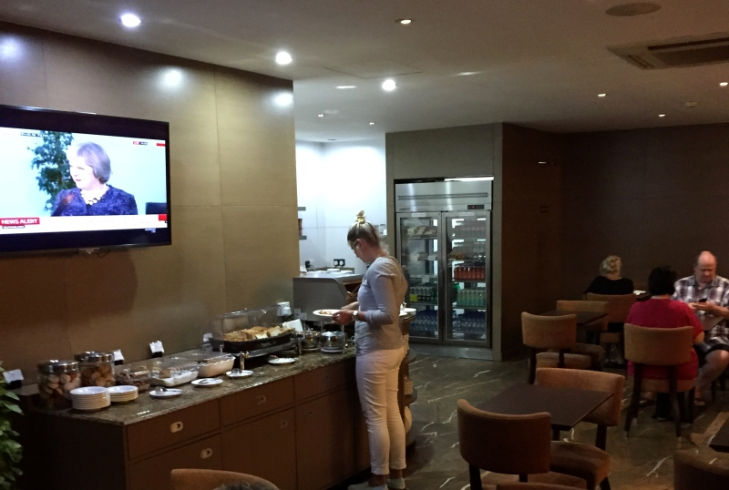 Male Airport Business Class Lounge Review
