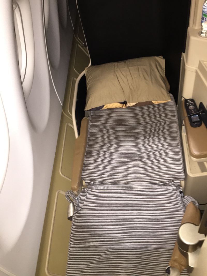 Etihad Business Class Flat Bed Seat Review, A330-200