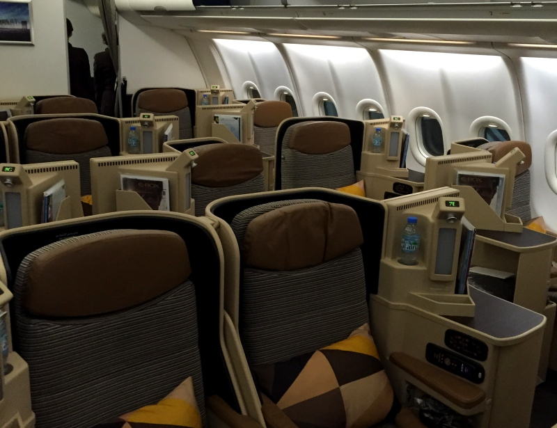 Review: Etihad Business Class A330-200