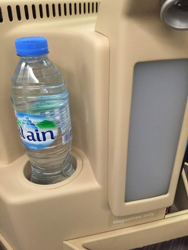 Water Bottle Holder, Etihad Business Class Review, A330-200