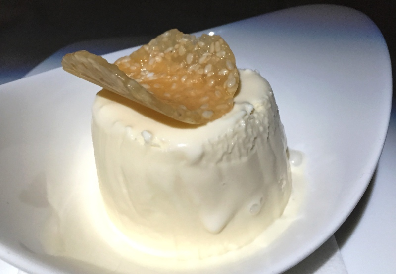 Vanilla Ice Cream, Etihad Business Class Review