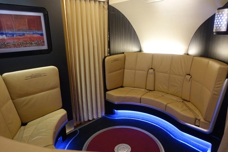 """Etihad A380 Lounge Bar: """"The Lobby"""""""