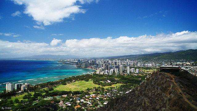 view from diamond head - photo #32