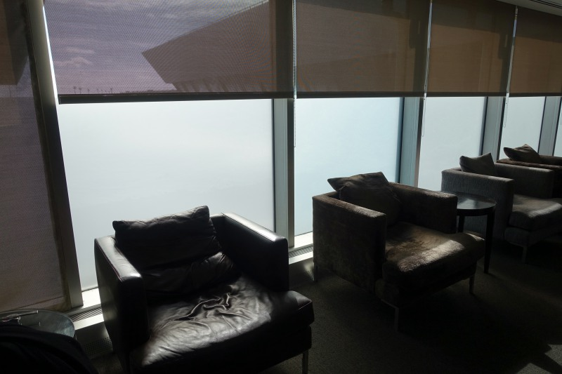 Window Seating, British Airways First Class Lounge New York JFK