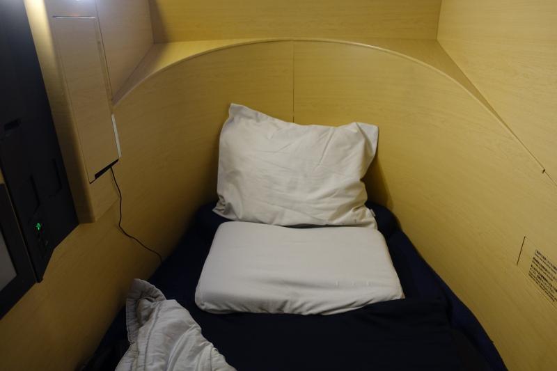 Tempurpedic-like Pillow, ANA First Class Review