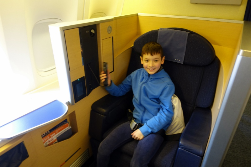 Review: ANA First Class Seat 2K