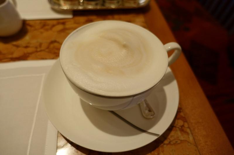 Cappuccino, Breakfast at The Peninsula Tokyo