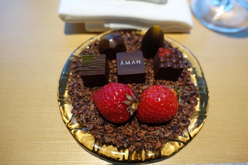 Aman Tokyo Chocolates