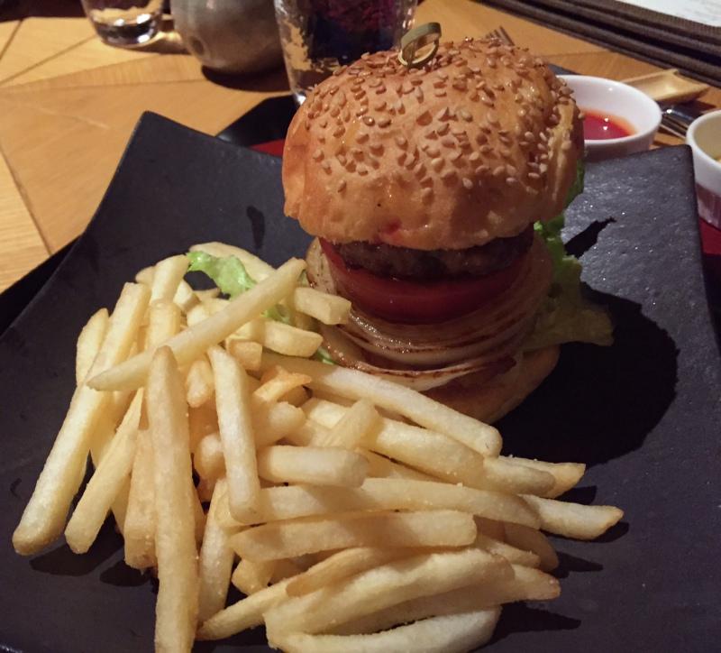 Burger and Fries, Amanemu