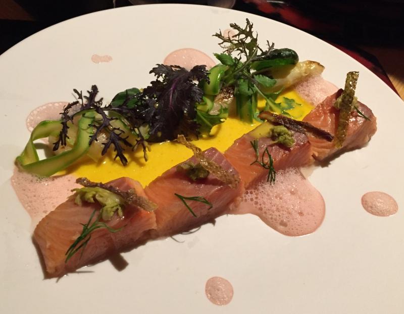 Salmon Dish, Amanemu