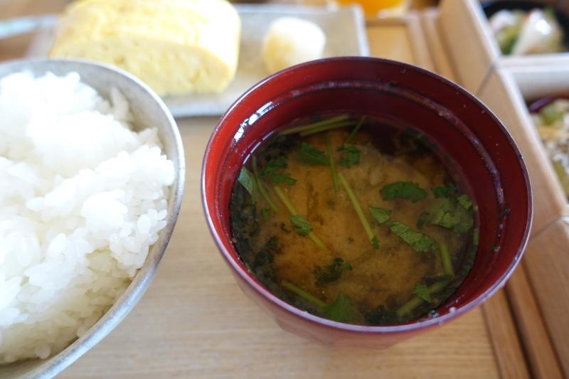 Amanemu Japanese Breakfast: Miso Soup