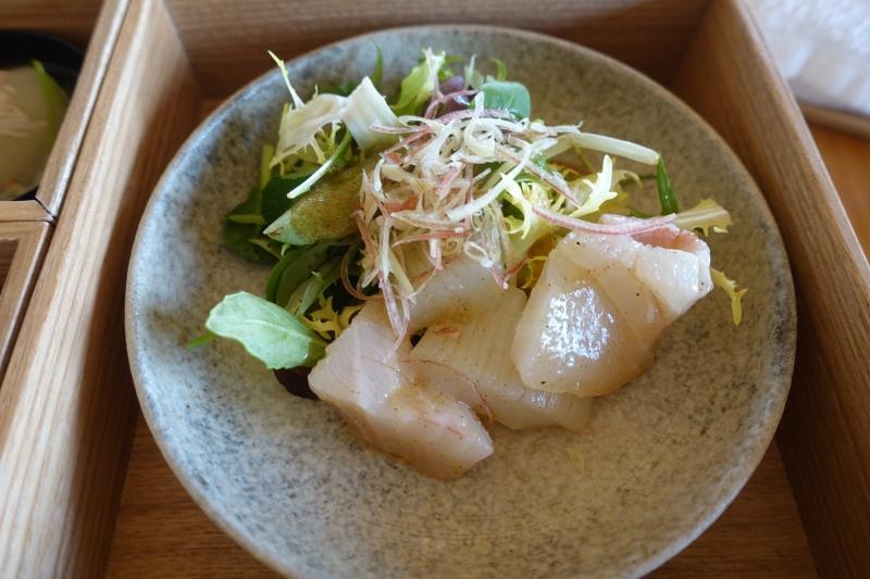 Amanemu Japanese Breakfast: Sashimi