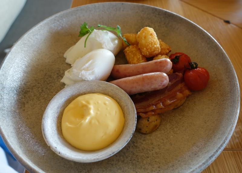 Amanemu American Breakfast: Poached Eggs