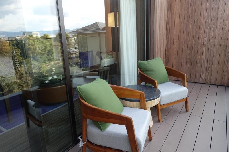 Four Seasons Room Balcony, Four Seasons Kyoto Review