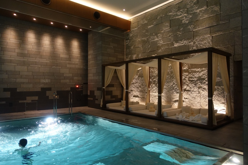 Four Seasons Kyoto Pool Cabanas