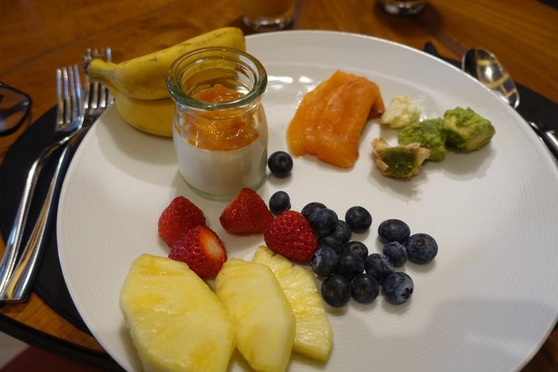 Fresh Fruit, Four Seasons Kyoto Breakfast Review