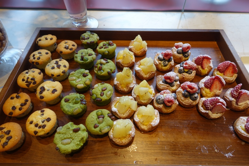 Muffins and Pastries, Four Seasons Kyoto Breakfast Buffet