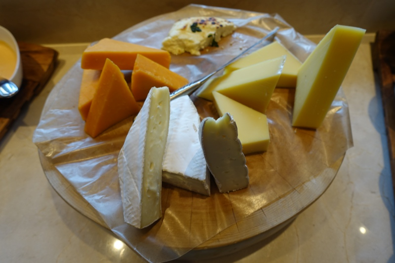 Cheeses, Four Seasons Kyoto Breakfast Buffet