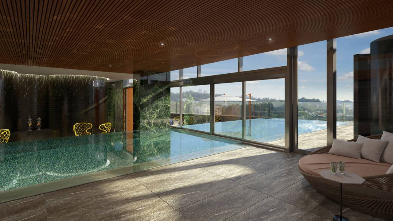 New Four Seasons Sao Paulo: Indoor-Outdoor Pool