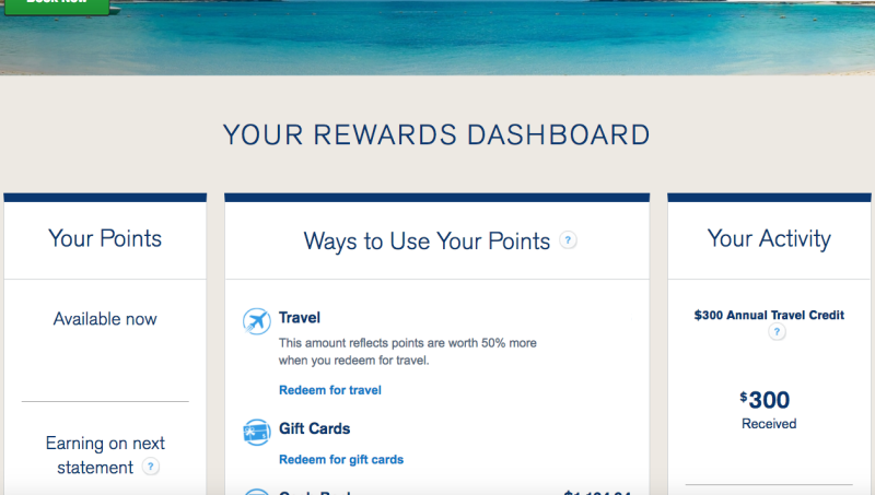 How to Check Chase Sapphire Reserve $300 Travel Credit Status