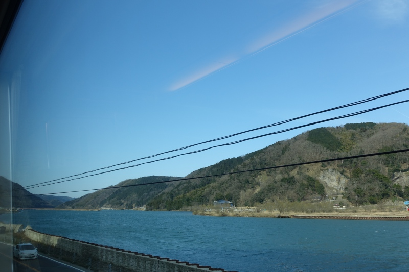 Water Views, Train to Kinosaki Onsen