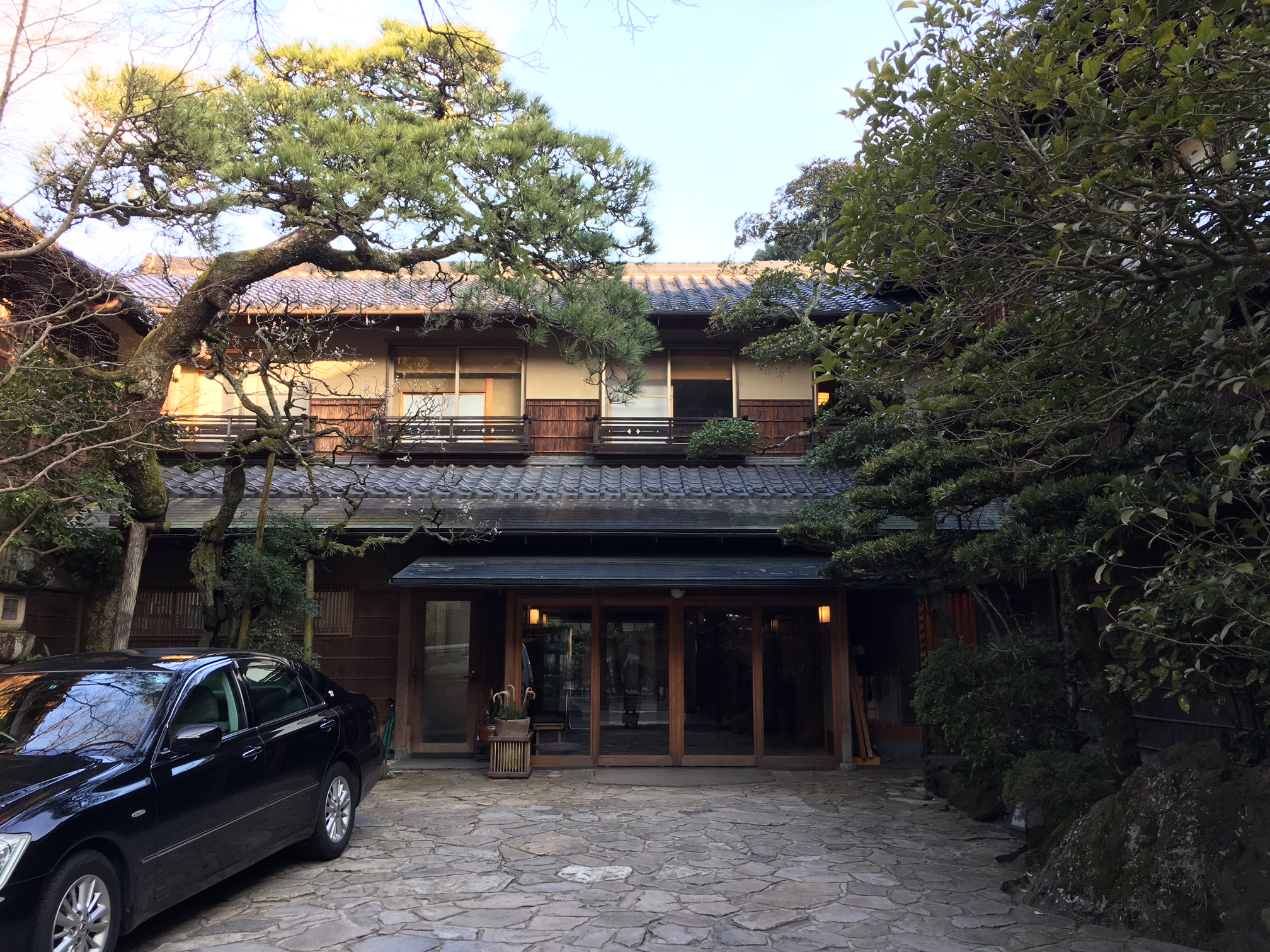 Nishimuraya Honkan Courtyard and Entrance, Kinosaki Onsen