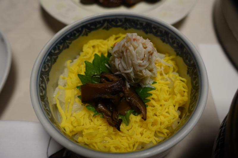 Kid's Dinner of Rice and Matsuba Crab