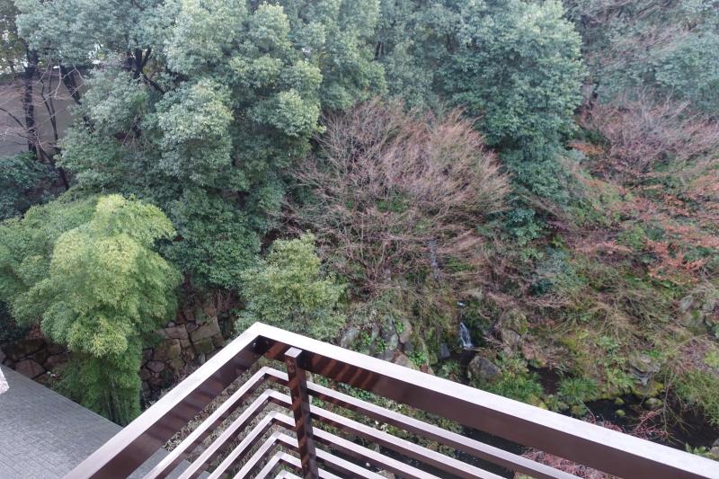 View from Hyatt Regency Kyoto Room