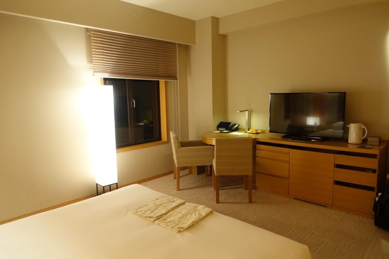 Small Window at Hyatt Regency Kyoto