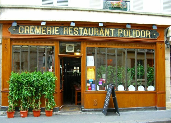 Cremerie Restaurant Polidor, Paris with Kids