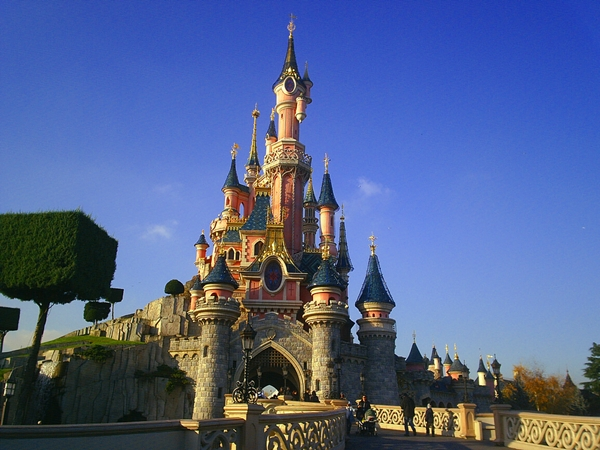 Castle at Disneyland Paris, Paris with Kids